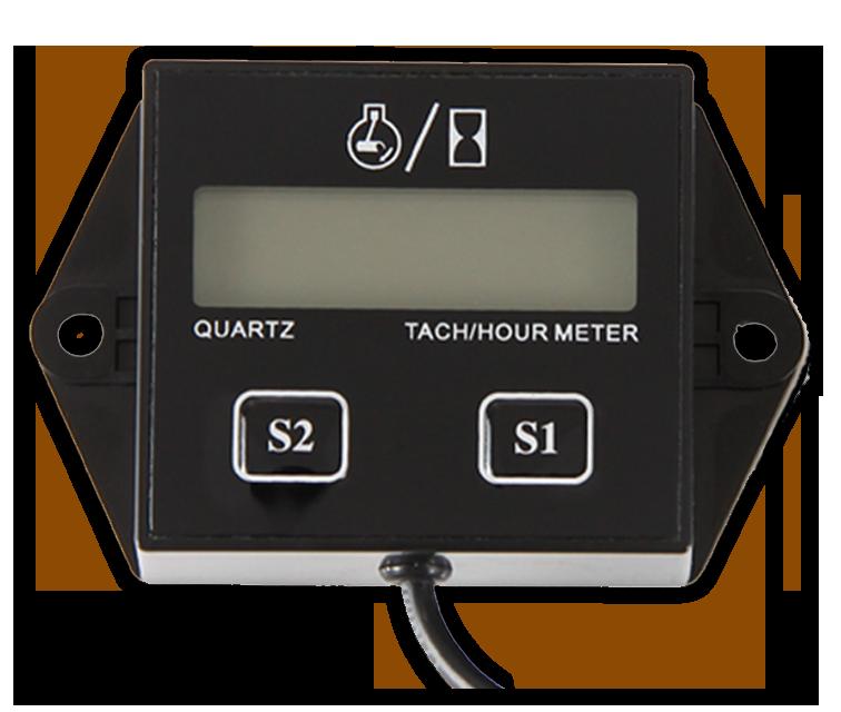 Цифровой сбрасываемый счетчик топлива, тахометр,RL-HM011N.
