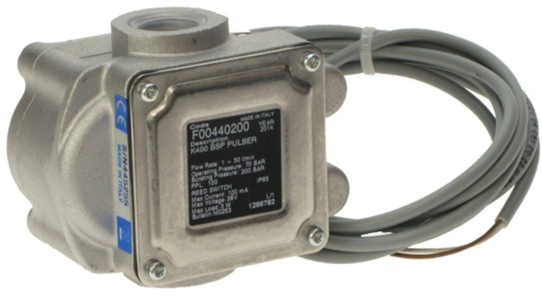 Piusi K400 PULSER 1/2″счетчик импульсный 1-30л/мин 70бар