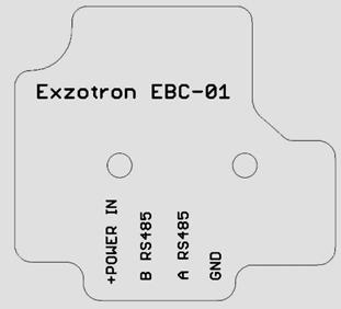 Конвертер Bluetooth - RS485 Exzotron EBC-01