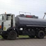 Управление раздачей на бензовозе с идентификацией получателя топлива