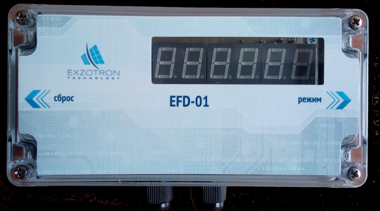 Индикатор расхода топлива EFD-01 (для счетчика топлива ППО40/25)