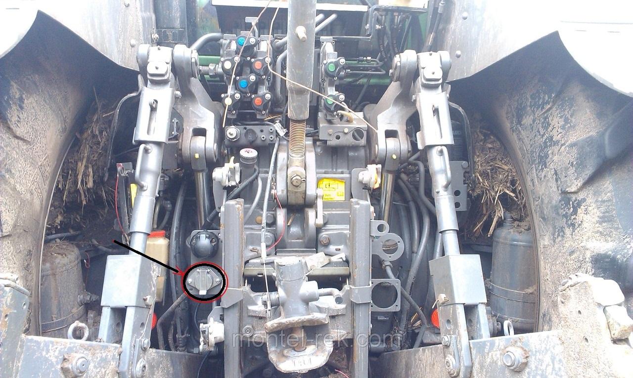 Метка-идентификатор прицепного оборудования.