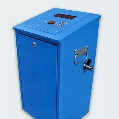 Фильтр-газоотделитель для использования на компактных станциях тарирования.