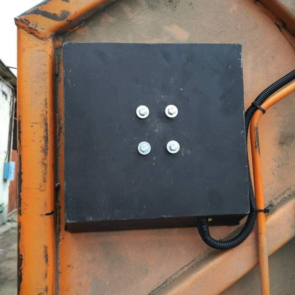 RFID идентификация мусорных контейнеров