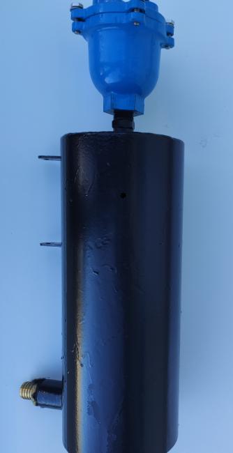 Вихревой газоотделитель пены и воздуха EX-Air Separator.